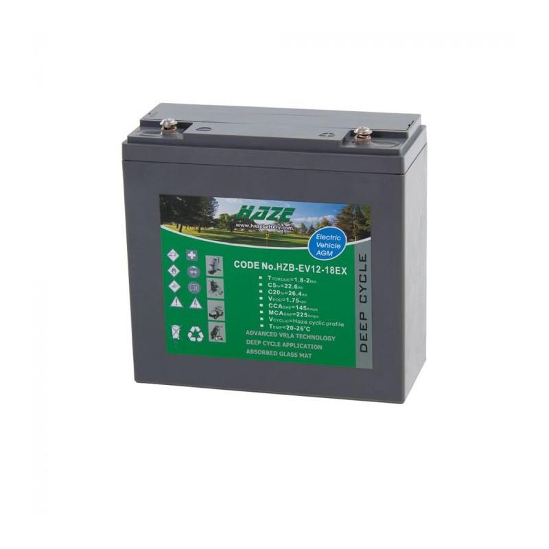 21ah Motocaddy Lead-Acid Battery
