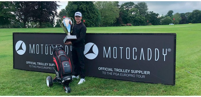 Mansell races to first PGA Europro Tour victory